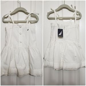 Nautica sail white dress